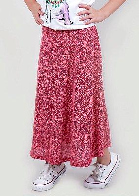Saia Shorts Infantil Midi Cherry