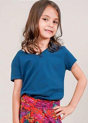 T-shirt Infantil Marinho Comfy