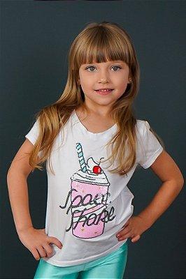 T-shirt Infantil Milk Shake