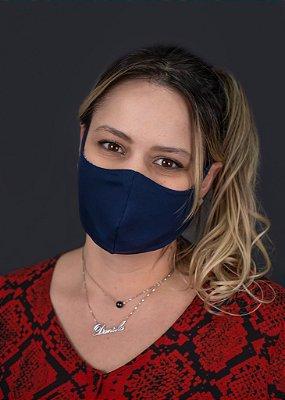 Máscara Feminina Marinho