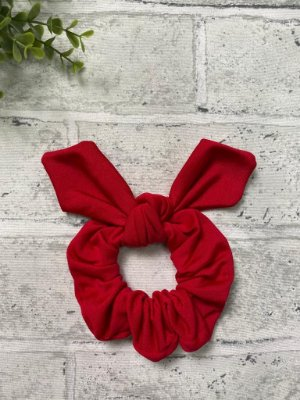 Scrunchie Melância Fleece