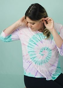 T-shirt Adulto Tie Dye Candy