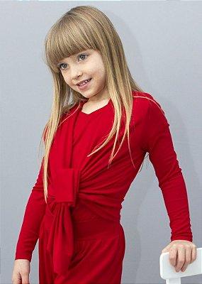 Easy kit Infantil Cardigan + T-Shirt Red Rouge