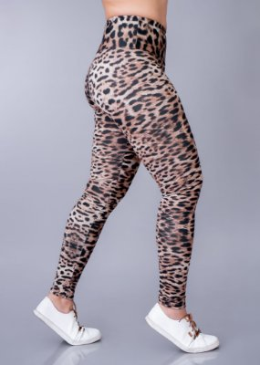 Legging Animal Print Adulto