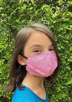 Máscara Infantil Penelope Brilhante