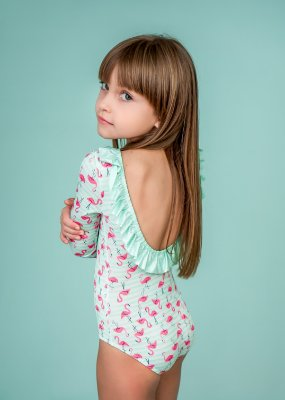 Body Infantil Flamingo