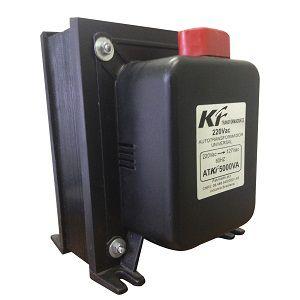 Auto Transformador 110 para 220 5000va Com Proteção Térmica kf