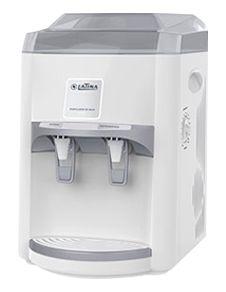 Purificador Latina Agua Gelada e Natural PA 355 127v Branco Compressor