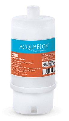 Refil Blindado Ponto De Uso Ab 200 Rosca 1/2 Acquabios