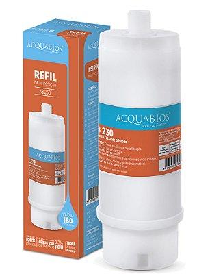 Refil Blindado Ponto De Uso Ab230 Rosca 1/2 Acquabios