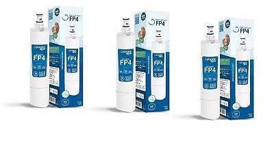 Refil Filtro FP4 Para Purificador Consul Planeta Agua kit 3 peças