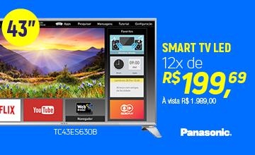 """Panasonic SMART TV 43"""" LED TC-43ES630B"""