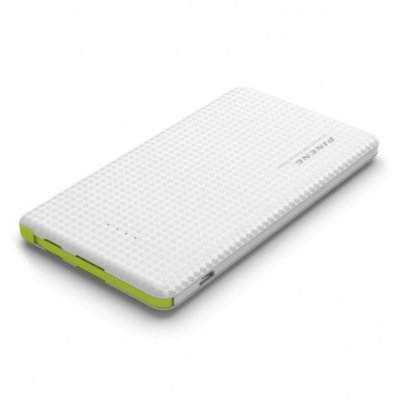 Carregador Portátil Pineng Power Bank Original Slim Pn951 10000mah Branco