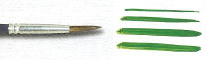 Pincel 182 Redondo Orelha de Boi Cabo Longo (Pinctore/TIGRE)