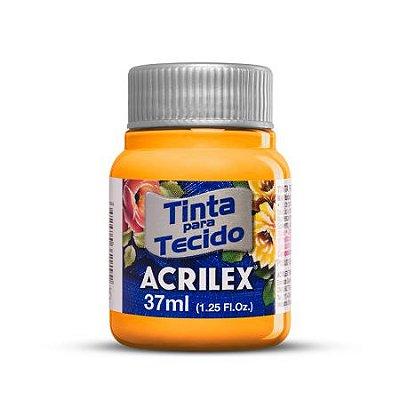 Tinta para tecido fosca 37ml ACRILEX - várias cores