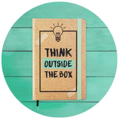 Sketchbook Think Outside the Box - Pequeno