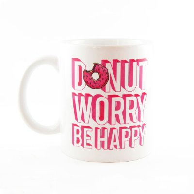 Caneca Donut Worry