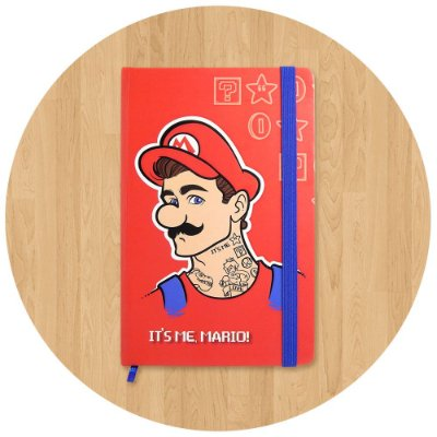 Sketchbook Super Mario