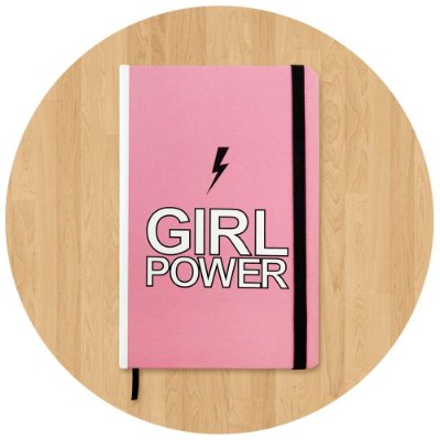 Sketchbook Girl Power - Pequeno
