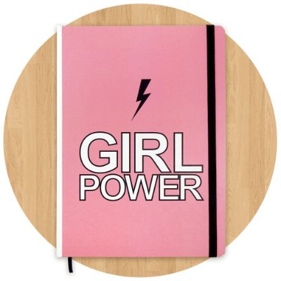 Sketchbook Girl Power Grande