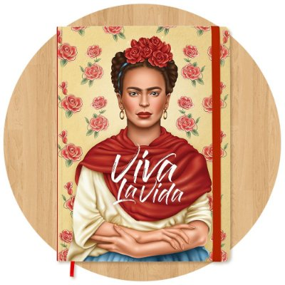 Sketchbook Frida Kahlo - Grande