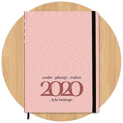Planner 2020 Geométrico - Personalizado c/ Nome