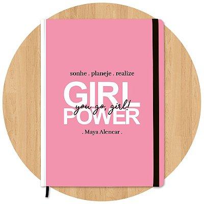 Planner 2020 U Go Girl - Personalizado c/ Nome