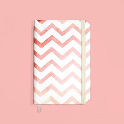 Sketchbook Zig Zag Candy - Pequeno
