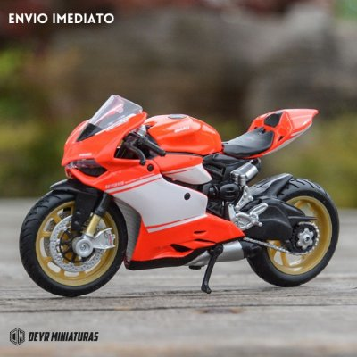 Miniatura Ducati 1199 Superleggera 2014 Maisto 1:18