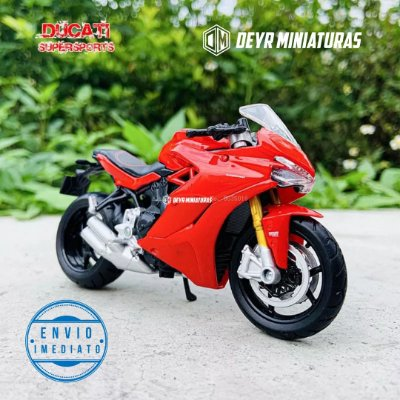 Miniatura Ducati Supersport S 2017 Maisto 1:18