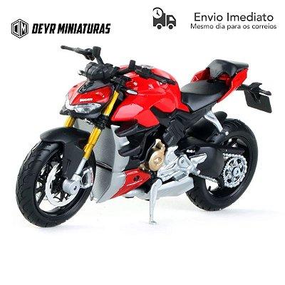 Miniatura Ducati Streetfighter V4 2020 Maisto 1:18