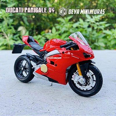 Miniatura Ducati Panigale V4 S 2018 Bburago 1:18