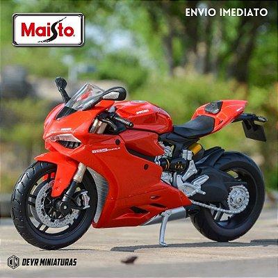 Miniatura Ducati 1199 Panigale 2012 Maisto 1:12