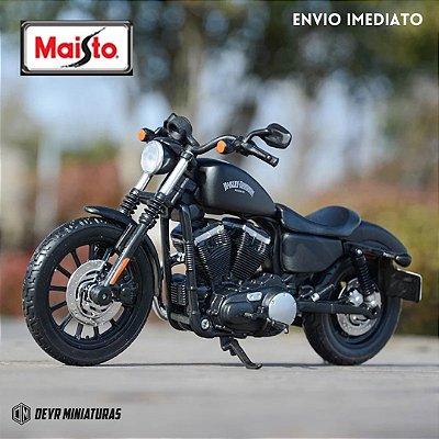 Miniatura Harley Davidson Iron 883 2014 Maisto 1:12