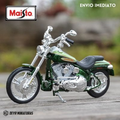 Miniatura Harley Davidson CVO FXSTDSE 2004 Maisto 1:18 - Series 37