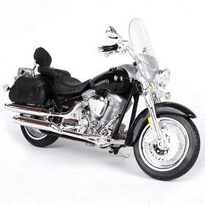 Miniatura Yamaha Road Star Silverado 2000 Maisto 1:18