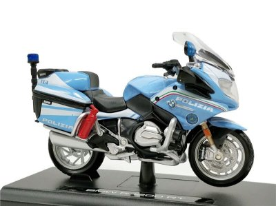 Miniatura BMW R 1200 RT 2016 Polícia Itália Maisto Desing 1:18