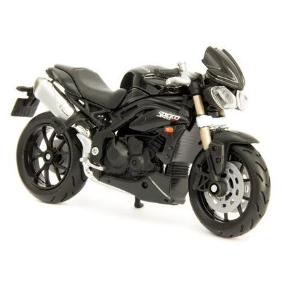 Miniatura Triumph Speed Triple 1050 2011 Bburago 1:18