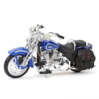 Miniatura Harley Davidson Heritage Softail Springer FLSTS 1999 Maisto 1:18 - Series 35