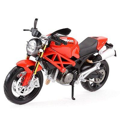Miniatura Ducati Monster 696 Maisto 1:12