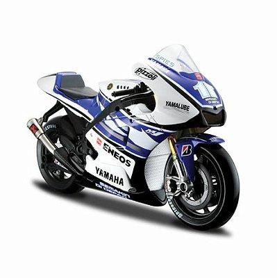 Miniatura Yamaha Factory Racing Moto Gp 2012 #11 Maisto 1:10