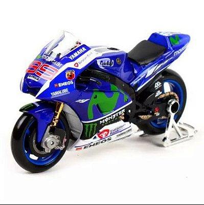 Miniatura Yamaha YZF-M1 Jorge Lorenzo 2015 Maisto 1:10