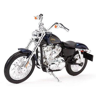 Miniatura Harley Davidson Seventy-Two XL 1200V 2012 Maisto 1:18