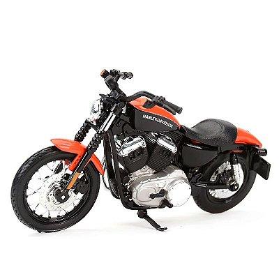 Miniatura Harley Davidson XL 1200N Nightster 2007 Maisto 1:18