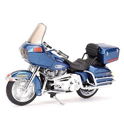 Miniatura Harley Davidson FLT Tour Glide 1980 Maisto 1:18