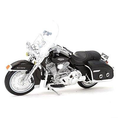 Miniatura Harley Davidson FLHRC Road King Classic 2001 Maisto 1:18