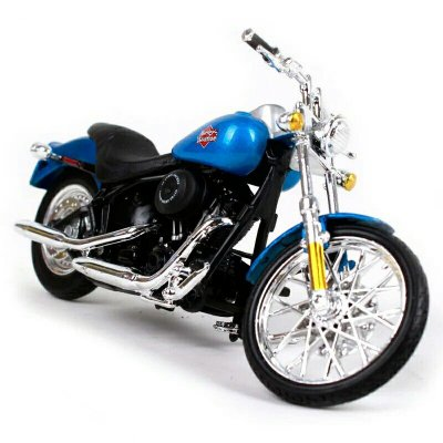 Miniatura Harley Davidson FXSTB Nignt Train 2002 Maisto 1:18