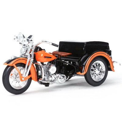 Miniatura Harley Davidson Sidecar/Servicar 1947