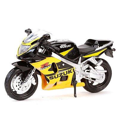 Miniatura Suzuki GSX-R 600 2002 Maisto 1:18