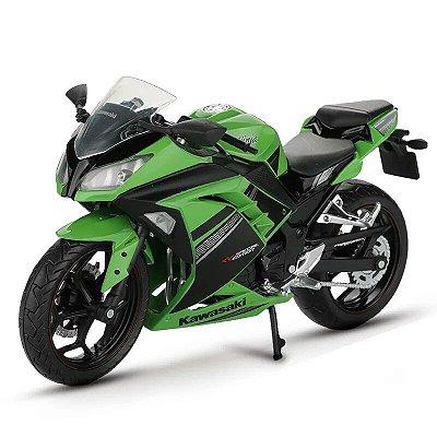 Miniatura Kawasaki Ninja 300 Automaxx 1:12
